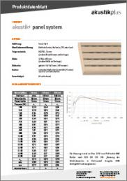 panel system linear 16-3